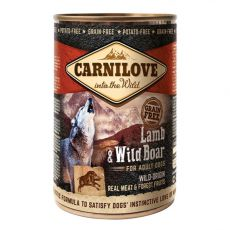 BRIT Carnilove Wild Meat Lamb & Wild Boar 400 g