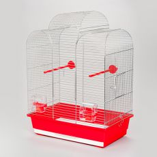 Klec pro papoušky IZA I chrom - 45 x 28 x 61,5cm