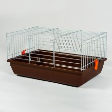 Klec pro králíka a morče - Rabbit 60 chrom