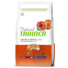 Trainer Natural Adult Medium, kuře a rýže 12 kg