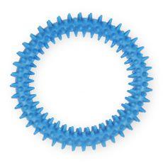 TPR Gumový kruh s výstupky – modrý 12,5 cm