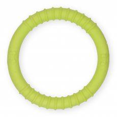 TPR Gumový kruh s výstupky – žlutý 9,5 cm