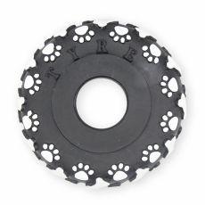 Hračka pro psa – vinylová pneumatika, 11 cm