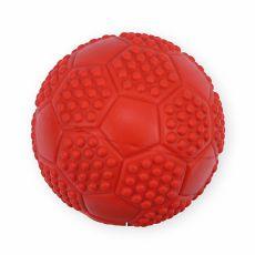 Gumová hračka pro psy – pískací míč, 7 cm