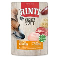 Kapsička RINTI Leichte Beute hovězí + kuřecí maso, 400 g