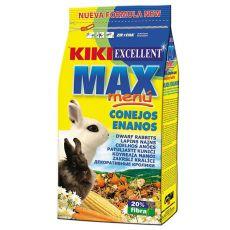 KIKI EXCELLENT MAX MENU – krmivo pro trpasličí králíky, 1 kg