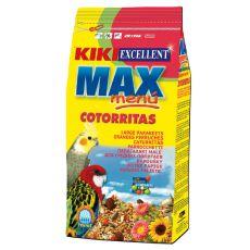KIKI MAX MENU Cotorritas – krmivo pro korely a agapornise 500 g