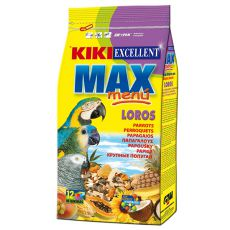 KIKI MAX MENU – krmivo pro velké papoušky 800 g