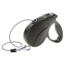 Vodítko Amigo Easy Mini do 12 kg – 3m lanko, černé