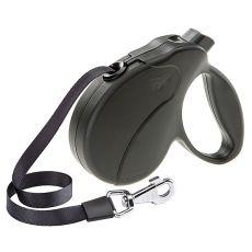 Vodítko Amigo Easy Small do 15 kg – 5m popruh, černé