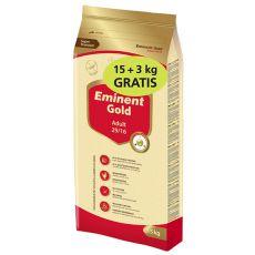 EMINENT GOLD Adult 15 kg + 3 kg GRATIS