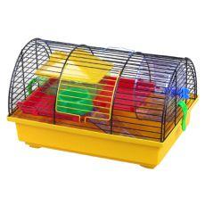Klec pro křečka - GRIM I s plastovou výbavou