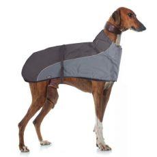 Vesta GREYHOUND s límcem pro psa, šedočerná – 60 cm