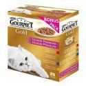 Konzerva Gourmet GOLD – dušené a grilované kousky, 8 x 85 g