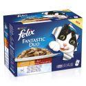 Kapsičky FELIX Fantastic Duo – lahodný výběr v želé, 12 x 100 g
