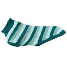 Pulovr Trixie Burnaby tyrkysovo-mentolový, L 55 cm