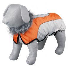 Kabát Trixie Laval béžovo-oranžový, M 50 cm