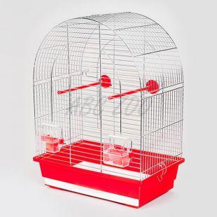 Klec pro papouška LUSI I chrom - 39 x 25 x 53 cm