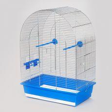 Klec pro papouška LUSI II chrom - 45 x 28 x 63 cm