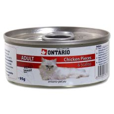 ONTARIO Cat Chicken Pieces + Scallop 95 g