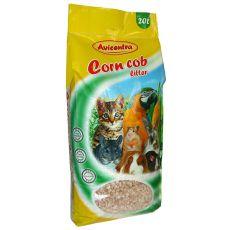 Kukuřičná podestálka Corn Cob Litter, 20 l – hrubá