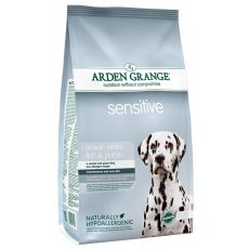 ARDEN GRANGE Sensitive ocean white fish and potato, 12 kg
