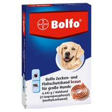 Antiparazitní obojek BOLFO pro velké psy, 66 cm