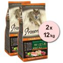 Primordial GF ADULT - kuře a losos 2 x 12 kg