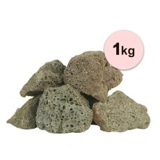 Vulkanické kameny do akvária Black Volcano Stone S – 1 kg