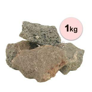 Vulkanické kameny do akvária Black Volcano Stone M – 1 kg