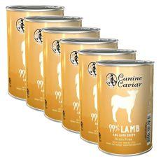 Konzerva Canine Caviar LAMB Grain Free 6 x 375 g