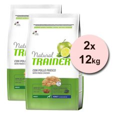 Trainer Natural Adult Maxi, kuře 2 x 12 kg