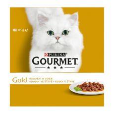 Konzerva GOURMET GOLD – kousky ve šťávě 8 x 85g