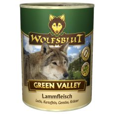 Konzerva WOLFSBLUT Green Valley, 395 g