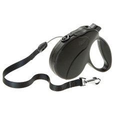 Vodítko Amigo Easy Small do 15 kg – 5m lanko, černé