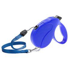 Vodítko Amigo Easy Medium do 25 kg – 5m lanko, modré