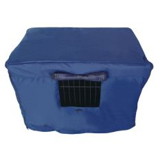 Přikrývka na klec Dog Cage Black Lux XL – 107,5 x 74,5 x 80,5 cm