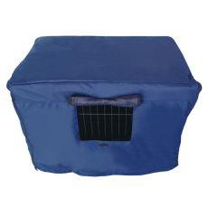 Přikrývka na klec Dog Cage Black Lux XXL – 125,8 x 74,5 x 80,5 cm
