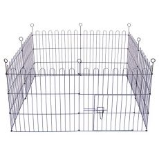 Ohrádka Dog Park Black Lux 8 hran, S – 61 x 61 cm