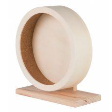 Dřevěný kolotoč pro hlodavce 21 cm