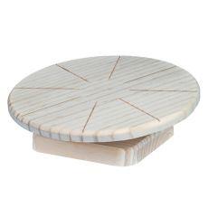 Dřevěný disk na běhání pro malé hlodavce, 20 cm