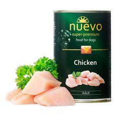 Konzerva NUEVO DOG Adult Chicken 400 g