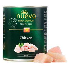 Konzerva NUEVO DOG Adult Chicken 800 g