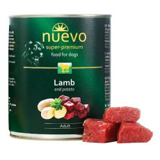 Konzerva NUEVO DOG Adult Lamb & Potato 800 g