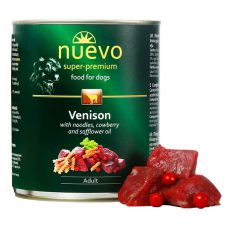 Konzerva NUEVO DOG Adult Venison Menue 800 g