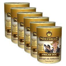 Konzerva WOLFSBLUT African Dog, 6 x 395 g