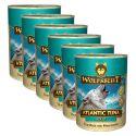 Konzerva WOLFSBLUT Atlantic Tuna, 6 x 395 g