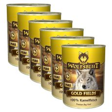 Konzerva WOLFSBLUT Gold Fields PURE, 6 x 395 g