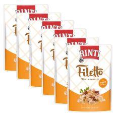 Kapsička RINTI Filetto kuře + kuřecí srdce, 6 x 100 g