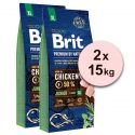 Brit Premium by Nature Junior Extra Large 2 x 15 kg